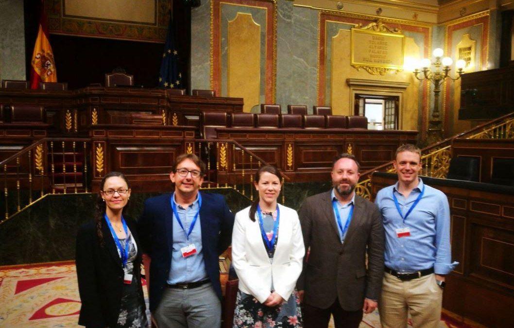 #Cienciaenelparlamento se presenta a la nueva Comisión de Ciencia del Congreso