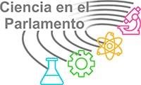 Logotipo de la iniciativa ciencia en el parlamento