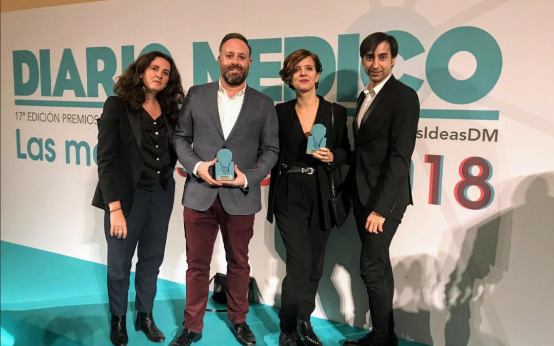 La iniciativa Ciencia en el Parlamento recibe el Premio Mejores Ideas 2018 de Diario Médico