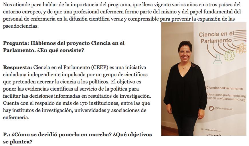 Ciencia en el Parlamento: acercar la evidencia científica a la política