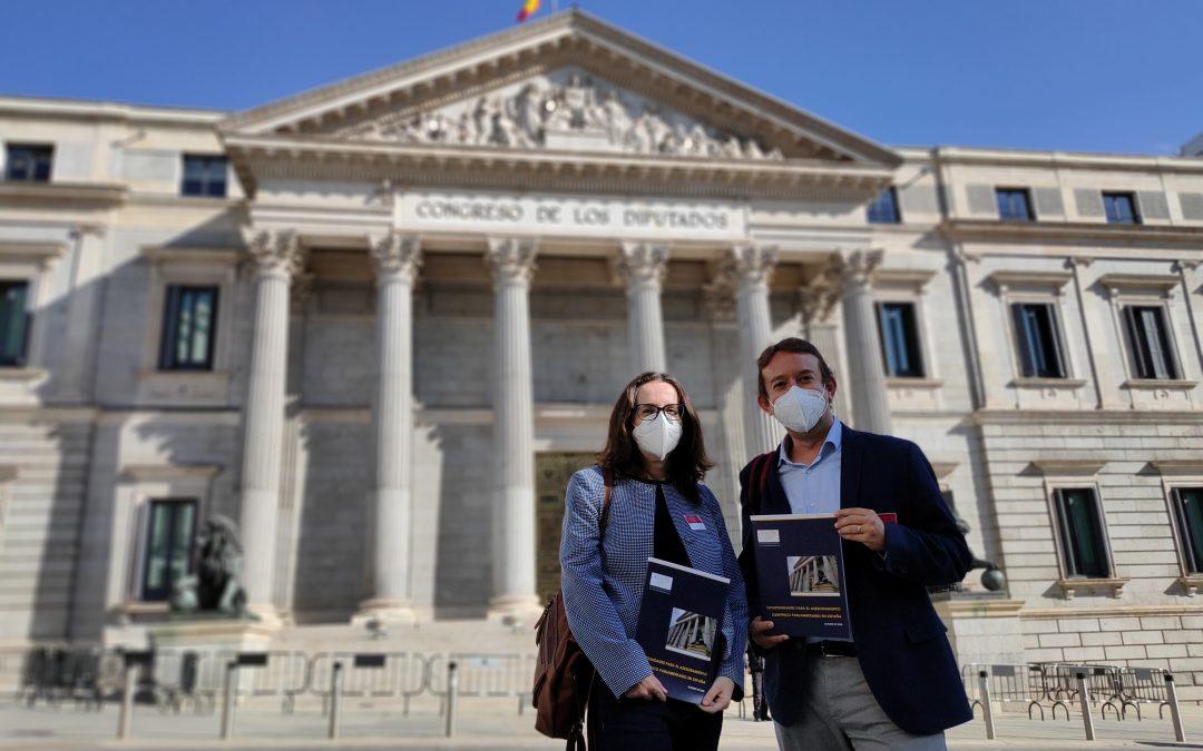 La Mesa del Congreso de los Diputados recibe a Ciencia en el Parlamento