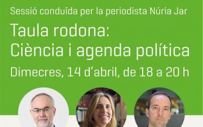 #ConversesNat: Ciència i agenda política. Quin ha de ser el pes del coneixement científic en la gestió pública?