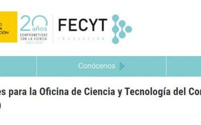 Técnicos/as Superiores para la Oficina de Ciencia y Tecnología del Congreso de los Diputados (5 PLAZAS)